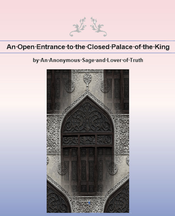 First Additional product image for - An Open Entrance to the Closed Palace of the King by Eirenaeus Philalethes, Lover of Truth