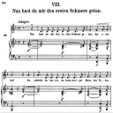Nun hast du mir den ersten schmerz getan, Op.42 No.8 , High Voice in D minor, R. Schumann (Frauenliebe und Leben), C.F. Peters | eBooks | Sheet Music