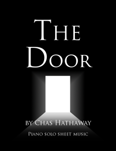 the door sheet music