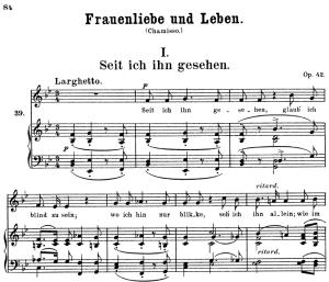 Seit ich ihn gesehen, Op.42 No.1, High Voice in B-Flat Major, R. Schumann (Frauenliebe und Leben), C.F. Peters | eBooks | Sheet Music