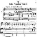 Süsser Freund, du blickest, Op.42 No.6, High Voice in G Major, R. Schumann (Frauenliebe und Leben), C.F. Peters | eBooks | Sheet Music
