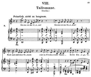 Talismane Op.25 No.8, High Voice in C Major, R. Schumann (Myrthen), C.F. Peters | eBooks | Sheet Music