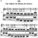 Und wüssten's die Blumen Op.48 No.8, High Voice in A minor, R. Schuman (Dichterliebe)n, C.F. Peters | eBooks | Sheet Music