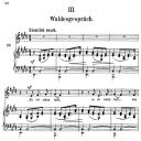 Waldesgeschprâch Op.39 No.3, High Voice in E Major, R. Schumann (liederkreis), C.F. Peters | eBooks | Sheet Music