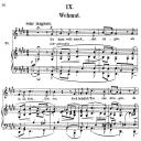 Wehmut Op.39 No.9, High Voice in E Major, R. Schumann (Liederkreis), C.F. Peters | eBooks | Sheet Music