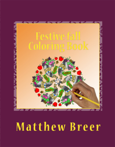 festive fall coloring book