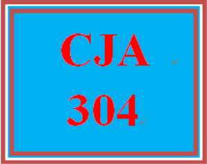 CJA 304 Week 5 Press Release and Reflection Summary | eBooks | Education