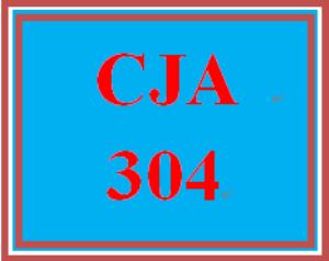 cja 304 entire course