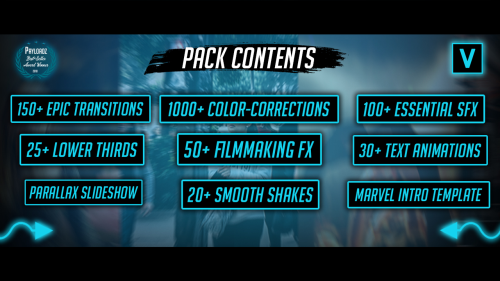 First Additional product image for - Sony Vegas All-In-One Preset Pack By Pro Edits