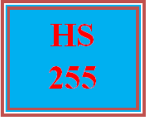 HS 255 Week 1 The Value of a Human Service Agency | eBooks | Education