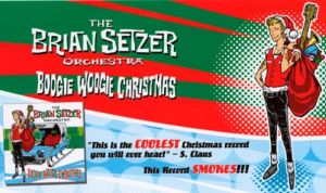 boogie woogie santa claus (brian setzer) for vocals and big band