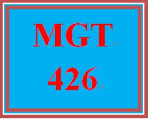 MGT 426 Week 1 Change Examination | eBooks | Education