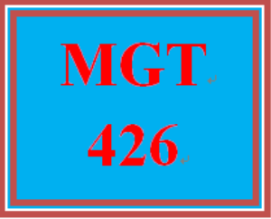 mgt 426 week 2 change strengths and weaknesses