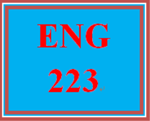 ENG 223 Entire Course | eBooks | Education