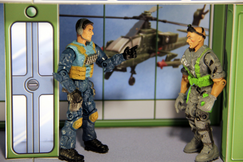 Second Additional product image for - 2 PACK SPECIAL! Print & Build Your Own Space Station & Military Playsets