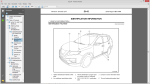 nissan rogue hybrid t32 2018 service manual wiring diagrams