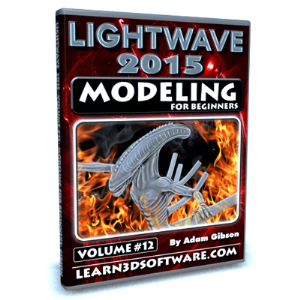 lightwave 2015-volume #12- modeling for beginners