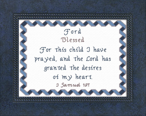 name blessings - ford