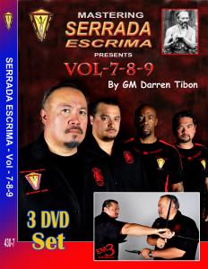 MASTERING SERRADA ESCRIMA Vol-7-8-9 | Movies and Videos | Training