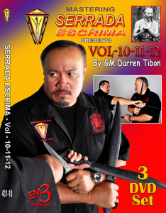 MASTERING SERRADA ESCRIMA Vol-10-11-12 | Movies and Videos | Training