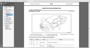 nissan titan a61 2018 service repair manual wiring diagrams
