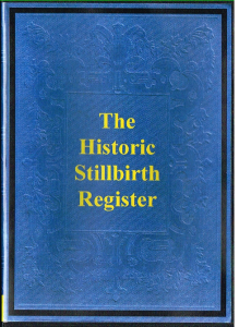 historic stillbirth register