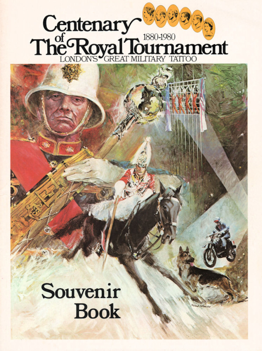 First Additional product image for - Centenary of the Royal Tournament 1880-1980 London's Great Military Tattoo Souvenir Book