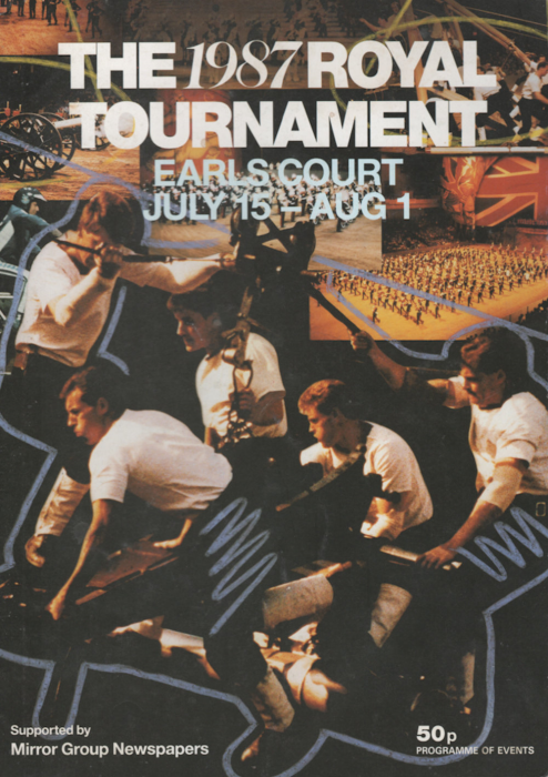 First Additional product image for - 1987 Royal Tournament Program of Events