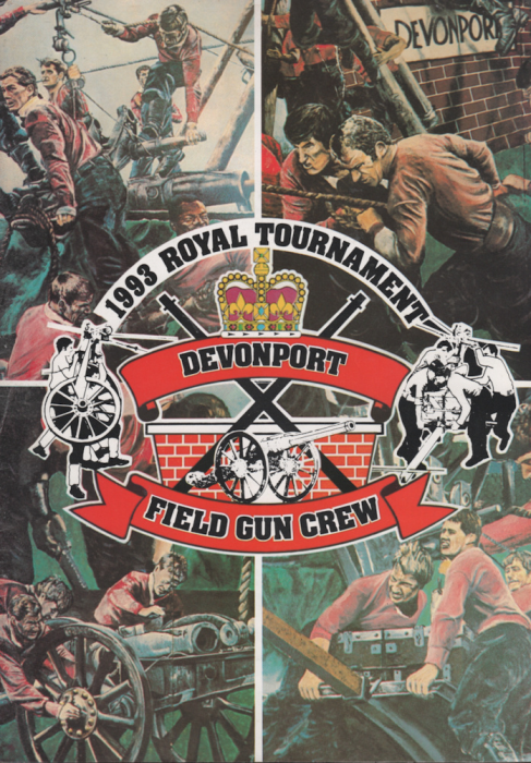 First Additional product image for - 1993 Royal Tournament Programme Devonport Field Gun Crew