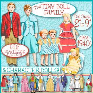 the tiny family of dolls epattern pdf