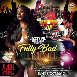 fire links x bass odyssey @jazzy j fully bad all black affair 15/10/2017