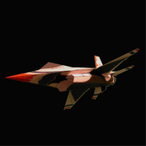 paper f-16 thunderbird