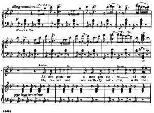 ah non giunge. aria for soprano (amina). v. bellini: la sonnambula. ed. schirmer  (1902), italian/english.