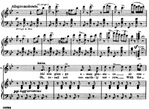 Ah non giunge. Aria for Soprano (Amina). V. Bellini: La Sonnambula. Ed. Schirmer  (1902), Italian/English. | eBooks | Sheet Music