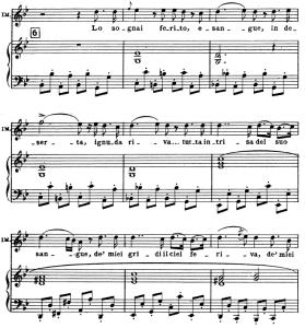Lo sognai ferito, esangue. Aria for Soprano (Imogene). V. Bellini: Il Pirata, Vocal Score, Ed. Ricordi (PD). Italian. | eBooks | Sheet Music