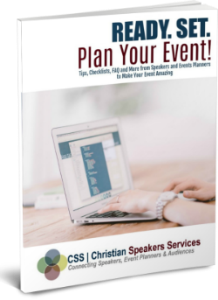 ready. set. plan your event