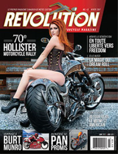 revolution motorcycle magazine vol.43 francais