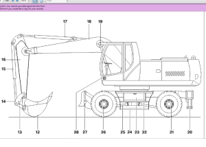 new holland mh6.6 mh8.6 wheel excavator service manual