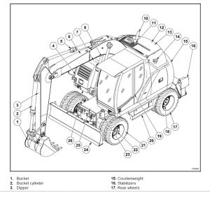 new holland mhcity mhplus mh5.6 excavator service manual