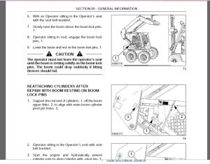 new holland ls140 ls150 scid loader service repair manual