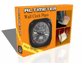 Altimeter Wall Clock | Other Files | Arts and Crafts