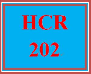 hcr 202 week 3 government payors worksheet