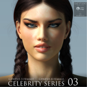 Celebrity Series 03 for Genesis 3 and Genesis 8 Female | Software | Design