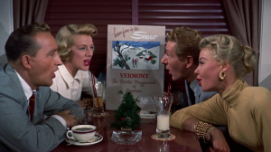 "SNOW from ""White Christmas"" movie arranged for mixed quartet, strings, rhythm and more (Bing Crosby, Danny Kaye) 
