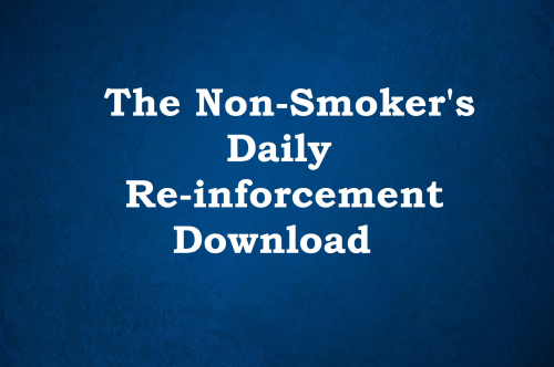 First Additional product image for - Non-Smoker Daily Reinforcement Download