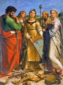 Palestrina : Cantantibus organis : Transposed score | Music | Classical