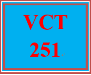 VCT 251 Week 1 Individual: Graphic Icon | eBooks | Education