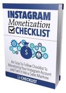 ebook on Instagram Monetization Checklist | eBooks | Business and Money