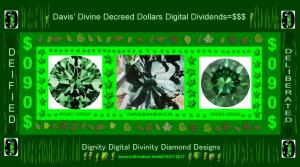 Davis' Dollar Digital Dividends $090 | Photos and Images | Digital Art