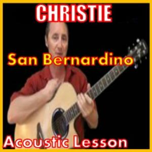Learn to play San Bernardino by Christie | Movies and Videos | Educational
